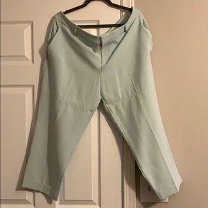 ON: Mint Green Dress Pants